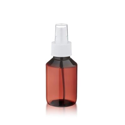 100ml PET Medizinflasche mit weißem Zerstäuber