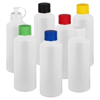 Zylinderflasche HDPE 100ml weiss