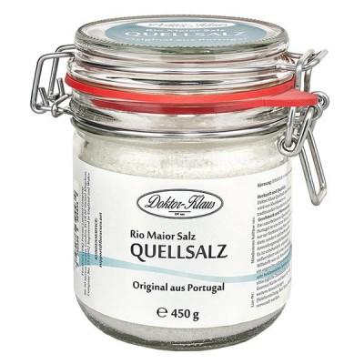 450g Quellsalz (Gourmetsalz) aus Portugal