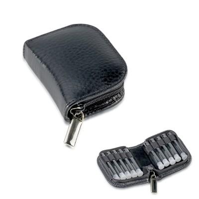 Schwarze Taschenapotheke London 10 Schlaufen