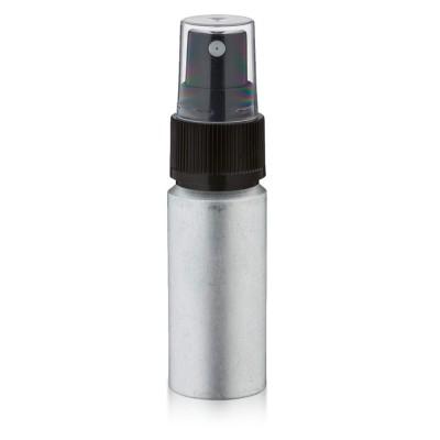 20ml Aluminium Flasche matt mit Pumpzerstäubern