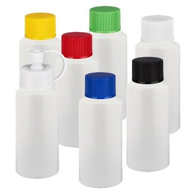 Zylinderflasche HDPE 25ml weiß