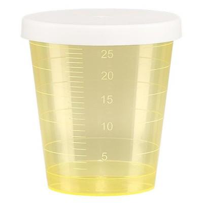 Gelber Medikamentenbecher 30ml