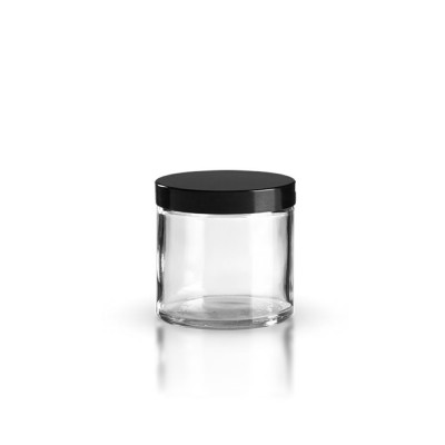 Klarglas Glastiegel 60ml