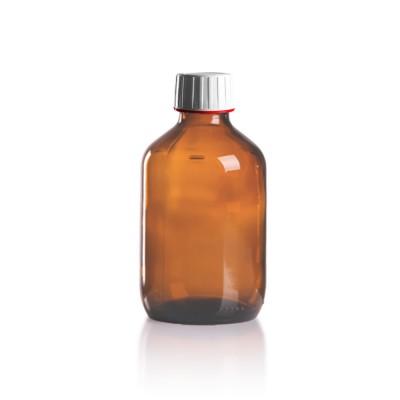 200ml Euro-Medizinflasche mit weißem Verschluss