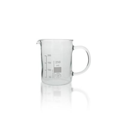 Becherglas 250ml mit Griff/Henkel