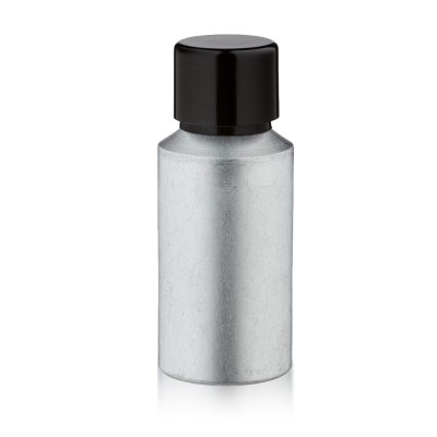 30ml Aluminium Flasche matt mit Schraubkappe