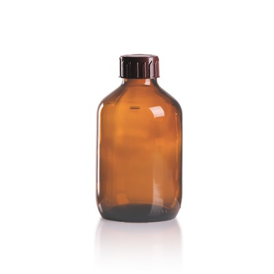 200ml Euro-Medizinflasche mit braunem Verschluss