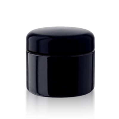 Violettglas Kosmetikdose 50ml