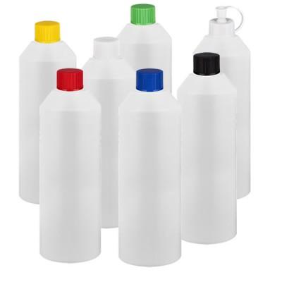 Zylinderflasche HDPE 250ml weiss