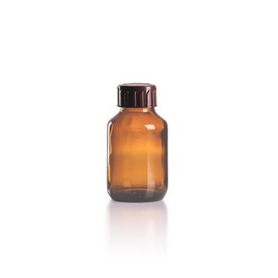 50ml Euro-Medizinflasche mit braunem Verschluss