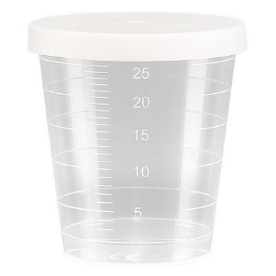 Transparenter Medikamentenbecher 30ml