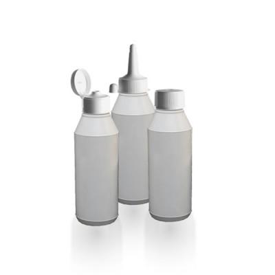 Runde Lotionflasche 250ml + ND32 Verschluss