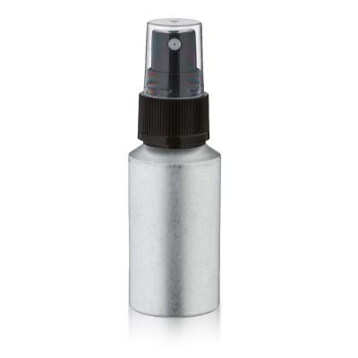 30ml Aluminium Flasche matt mit Pumpzerstäubern