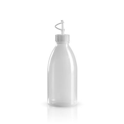 250ml Kunststoff Laborflasche + Tropfverschluss
