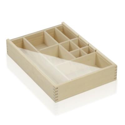 Massivholzbox Fichte mit Akryldeckel