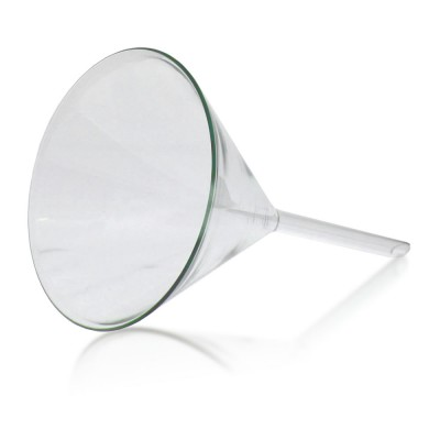 100mm Glastrichter - Kalk-Soda Glas