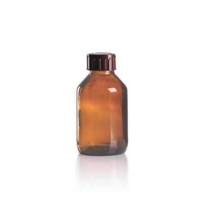 100ml Euro-Medizinflasche mit braunem Verschluss