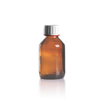 100ml Euro-Medizinflasche mit weißem Verschluss