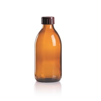 250ml Euro-Medizinflasche mit braunem Verschluss